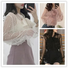 Load image into Gallery viewer, Sweet Bow Tulle Two-Piece Shirt SP1812150