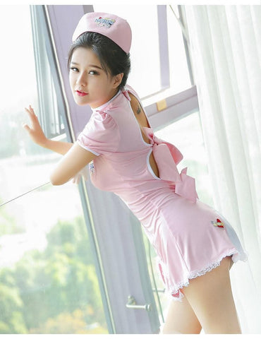 Sweet Nurse Romper/Uniform Set SP179669