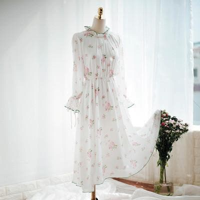 Sweet Summer Floral Chiffon Dress SP1710170