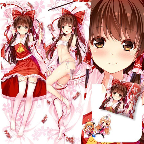 TouHou Project Hakurei Reimu Life-sized Pillow Case Dakimakura SP168573