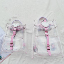 Load image into Gallery viewer, Kawaii Pinky Clear Backpack SP167397 - SpreePicky