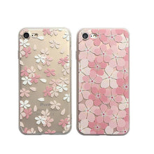 Load image into Gallery viewer, Transparent Sakura Phone Case SP179697