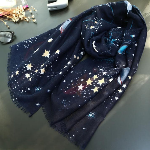 Universal Galaxy Star Woollen Shawl SP168518
