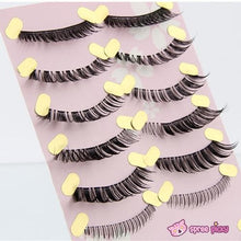 Load image into Gallery viewer, [Upper and Lower * 5 Pairs] Natural Make-up False Eyelashes SP151779 - SpreePicky  - 4
