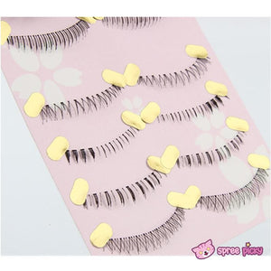 [Upper and Lower * 5 Pairs] Natural Make-up False Eyelashes SP151779 - SpreePicky  - 3