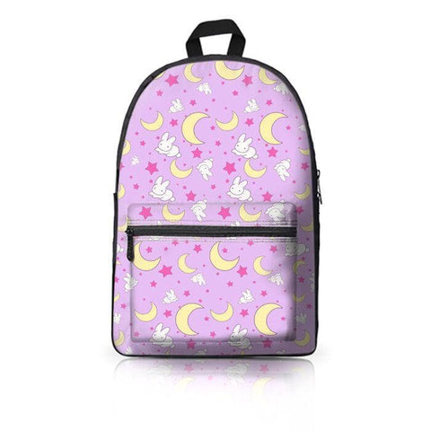 SAILOR MOON RABBIT MOON BEDDING PATTERN BACKPACK SP179144