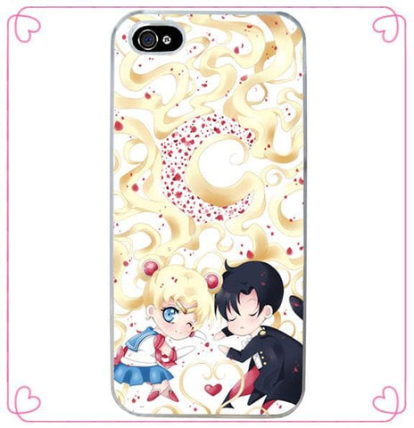 Sailor Moon Usagi and Texudo Mask Custom Phone Case SP140911