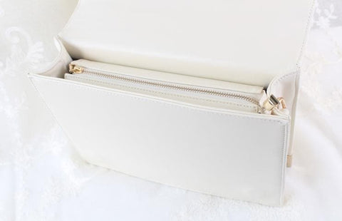 White/Black/Wine Magic Book Hand Bag Shoulder Bag SP154546 - SpreePicky  - 7