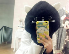 Load image into Gallery viewer, White/Black Cutie Kitty Hoodie Hat SP154278 - SpreePicky  - 6