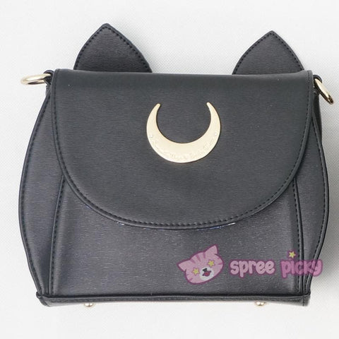 White/Black Sailor Moon Luna/Artemis Shoulder Bag High Quality Version SP152413 - SpreePicky  - 3
