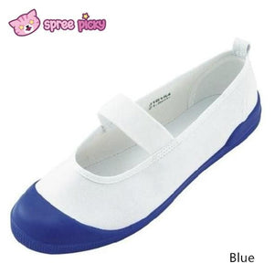White|Blue|Red J-fashion Cosplay School Uniform Flat Gym Shoes SP151628 - SpreePicky  - 3