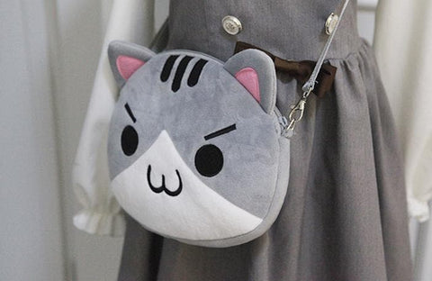Neko Atsume Cat Plush Bag SP164807 - SpreePicky  - 4