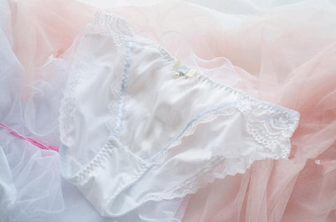 White/Pink/Blue Milky Lace Undies SP164910 - SpreePicky  - 4