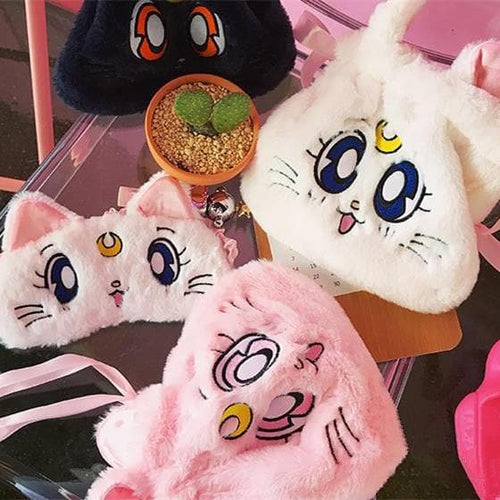 White/Pink/Navy Kawaii Sailor Moon Purse SP1812441