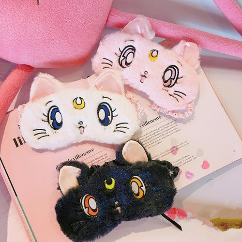 White/Pink/Navy Sailor Moon Sleep Masks SP179880