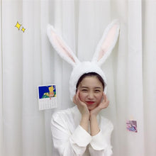 Load image into Gallery viewer, White/Pink Kawaii Bunny Ears Hat SP1812521