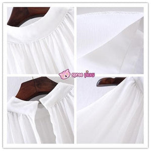 3 Colors Chiffon Sleeveless Halt Top SP151947 - SpreePicky  - 3