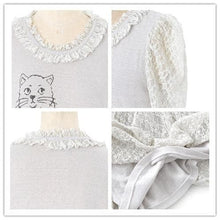 Load image into Gallery viewer, White Kitten Princess Lace Dress SP152927 Kawaii Aesthetic Fashion - SpreePicky