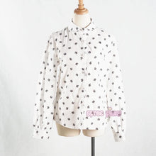 Load image into Gallery viewer, White Mori Girl Kawaii Neko Cats Blouse SP165163