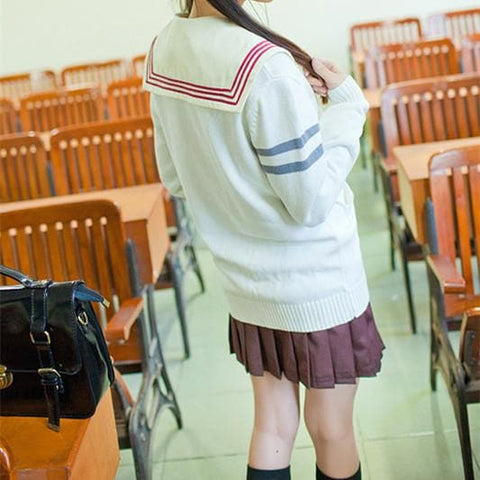 Jfashion School Uniform Knitting Cardigan SP167880