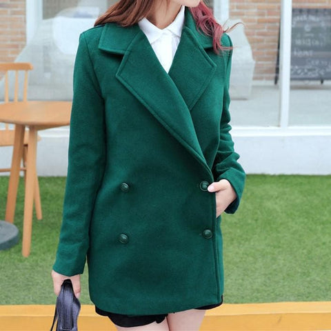 Wine/Green/Navy Sailor Uniform Coat SP154288 - SpreePicky  - 15