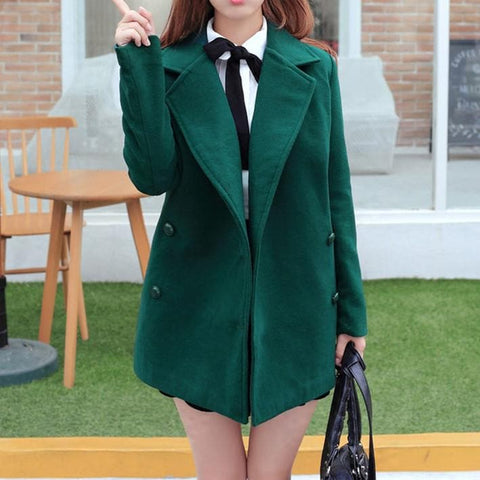 Wine/Green/Navy Sailor Uniform Coat SP154288 - SpreePicky  - 16