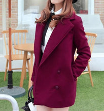 Load image into Gallery viewer, Wine/Green/Navy Sailor Uniform Coat SP154288 - SpreePicky  - 4