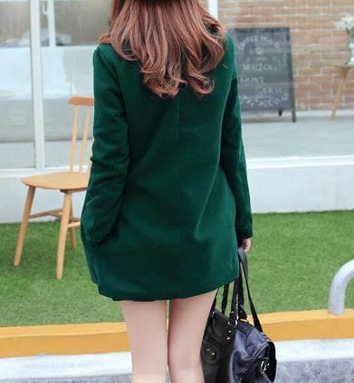 Wine/Green/Navy Sailor Uniform Coat SP154288 - SpreePicky  - 17