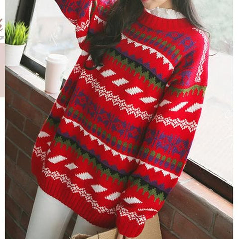 Winter Chirstmas Ornaments Sweater SP154142 - SpreePicky  - 3