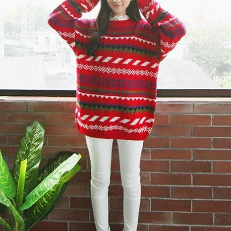 Winter Chirstmas Ornaments Sweater SP154142 - SpreePicky  - 4