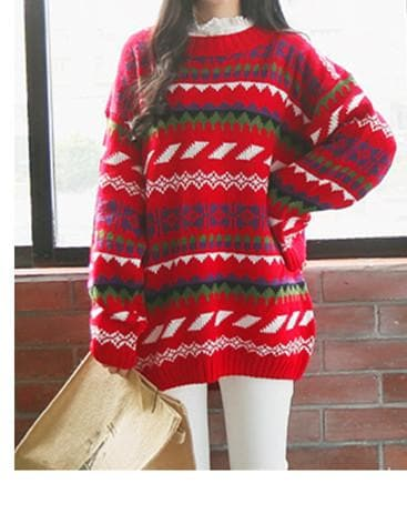 Winter Chirstmas Ornaments Sweater SP154142 - SpreePicky  - 5