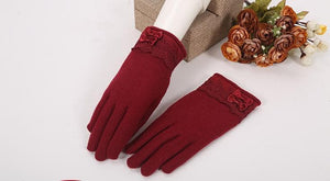 Winter Woolen Gloves With Touch Phone Screen Ability SP154063 - SpreePicky  - 6