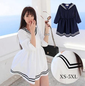 XS-5XL Let's go to Greece Sailor Dress SP140551 - SpreePicky  - 1