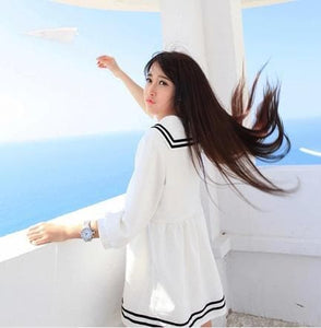 XS-5XL Let's go to Greece Sailor Dress SP140551 - SpreePicky  - 6