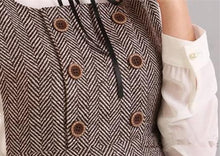 Load image into Gallery viewer, XS-L Grey/Coffee A Shape Sleeveless Dress SP154284 - SpreePicky  - 10