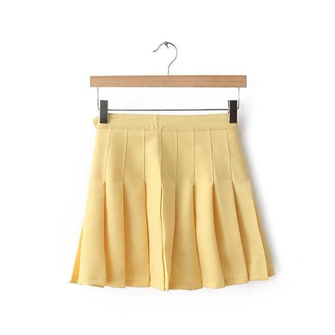 XS-L High Waist Pleated Tennis Pantskirt/Skirt SP153892 Page1 - SpreePicky  - 9