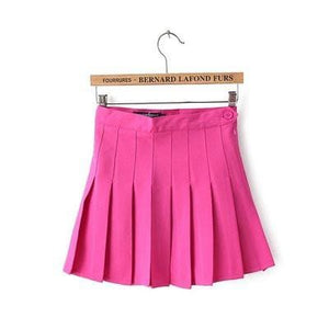 XS-L High Waist Pleated Tennis Pantskirt/Skirt SP153892 Page2 - SpreePicky  - 15