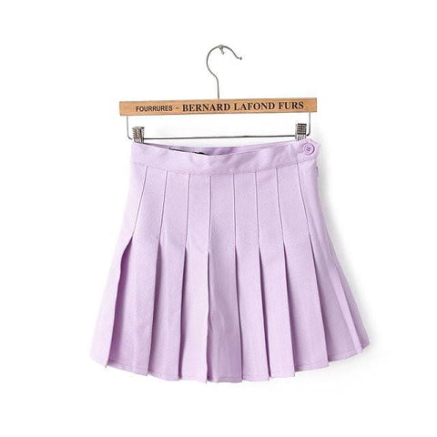 XS-L High Waist Pleated Tennis Pantskirt/Skirt SP153892 Page1 - SpreePicky  - 14
