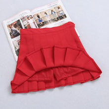 Load image into Gallery viewer, XS-L High Waist Pleated Tennis Pantskirt/Skirt SP153892 Page2 - SpreePicky  - 16