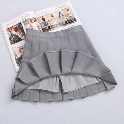 XS-L High Waist Pleated Tennis Pantskirt/Skirt SP153892 Page2 - SpreePicky  - 17