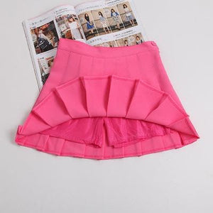 XS-L High Waist Pleated Tennis Pantskirt/Skirt SP153892 Page2 - SpreePicky  - 5
