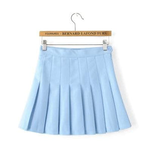 XS-L High Waist Pleated Tennis Pantskirt/Skirt SP153892 Page1 - SpreePicky  - 18