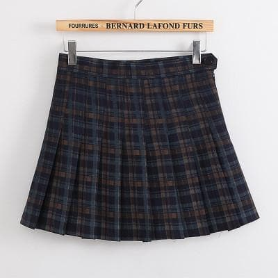XS-L High Waist Pleated Tennis Pantskirt/Skirt SP153892 Page2 - SpreePicky  - 9