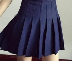 XS-L High Waist Pleated Tennis Pantskirt/Skirt SP153892 Page1 - SpreePicky  - 5