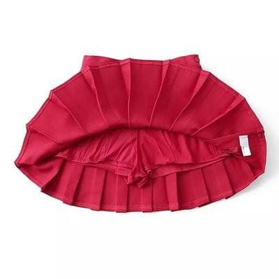 XS-L High Waist Pleated Tennis Pantskirt/Skirt SP153892 Page2 - SpreePicky  - 12