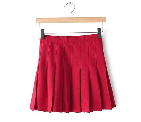 XS-L High Waist Pleated Tennis Pantskirt/Skirt SP153892 Page1 - SpreePicky  - 7