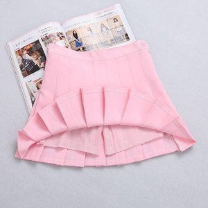 XS-L High Waist Pleated Tennis Pantskirt/Skirt SP153892 Page2 - SpreePicky  - 13
