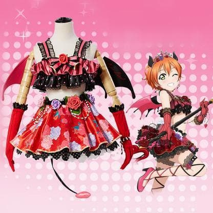 XS-XL Lovelive Hoshizora Rin Cosplay Costume SP167779
