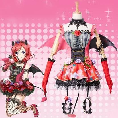 XS-XL Lovelive Nishikino Maki Cosplay Costume SP167781