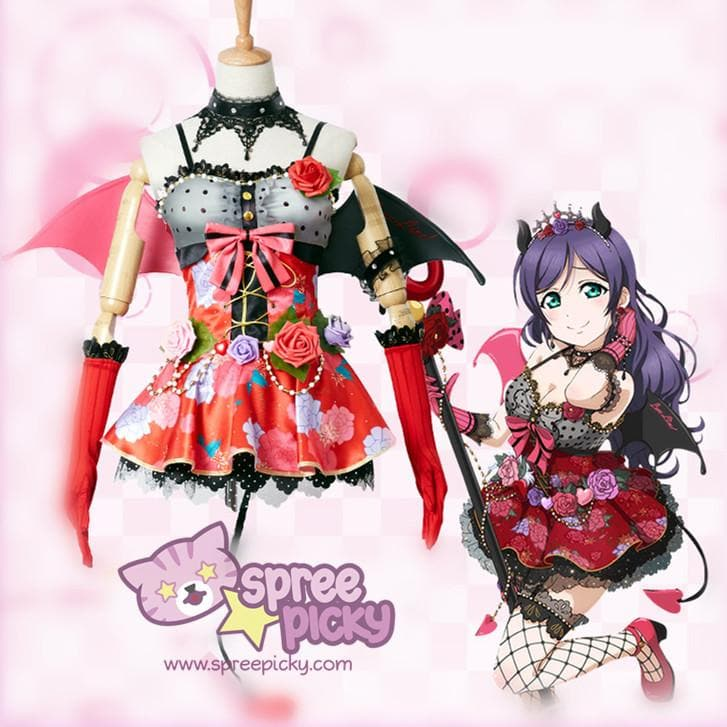 XS-XL Lovelive Tojo Nozomi Cosplay Costume SP167777